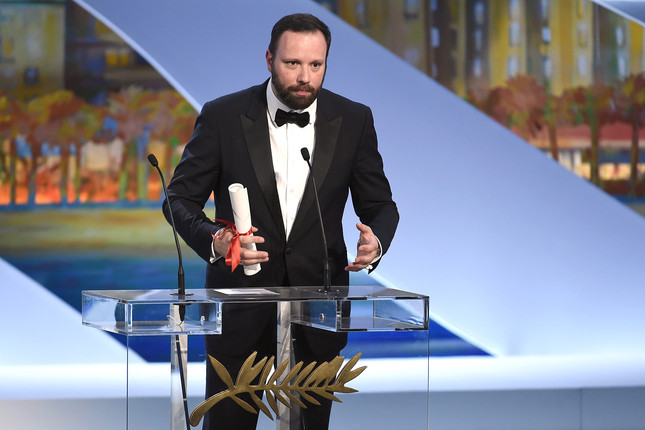 Yorgos Lanthimos - Prix du Jury - The Lobster © AFP Anne-Christine Poujoulat