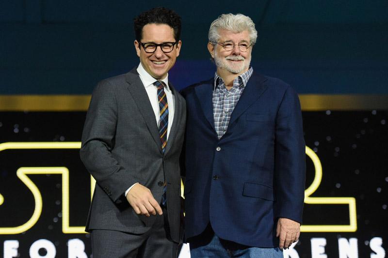 J.J. Abrams et George Lucas