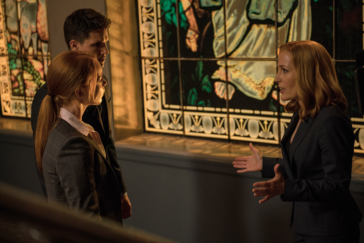 """""""La vérité est ailleurs 2"""" : Scully face aux agents Einstein et Miller"""