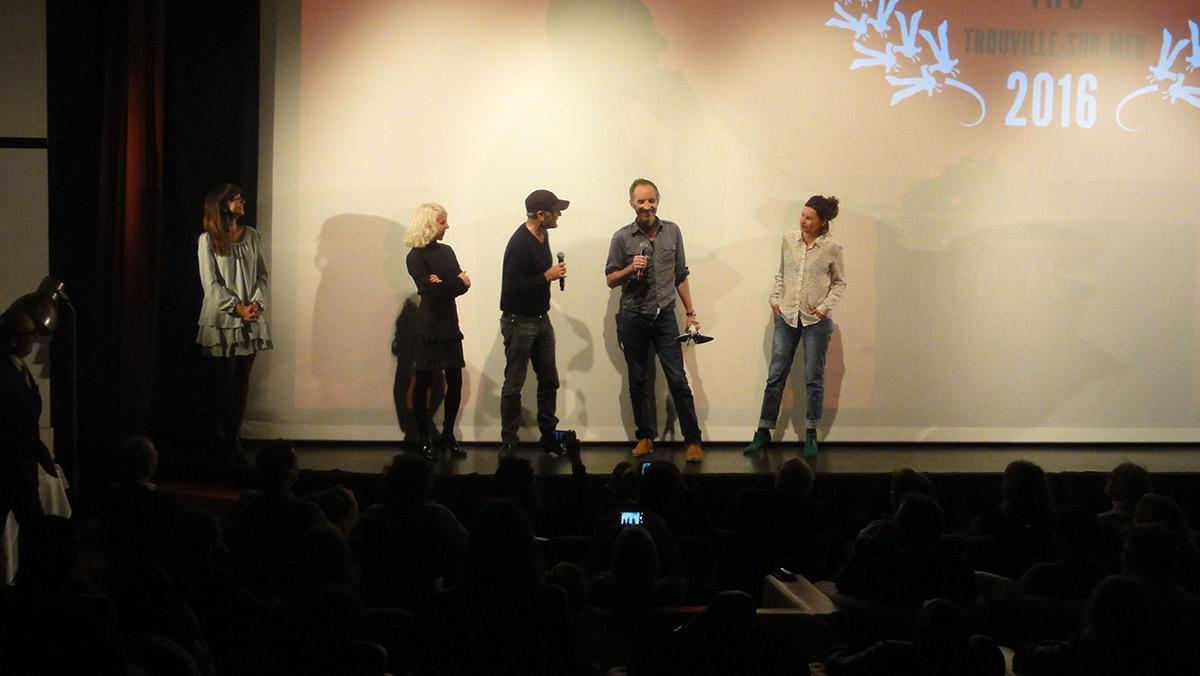 Laurent Baffie et Jean-Christophe Meurisse, micros en main